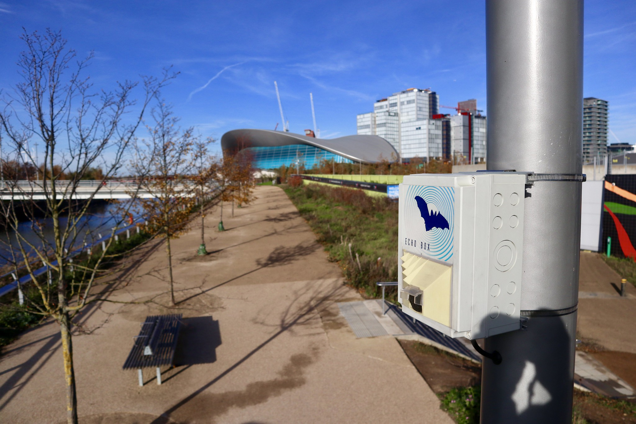 EchoBox in Queen Elizabeth Olympic Park